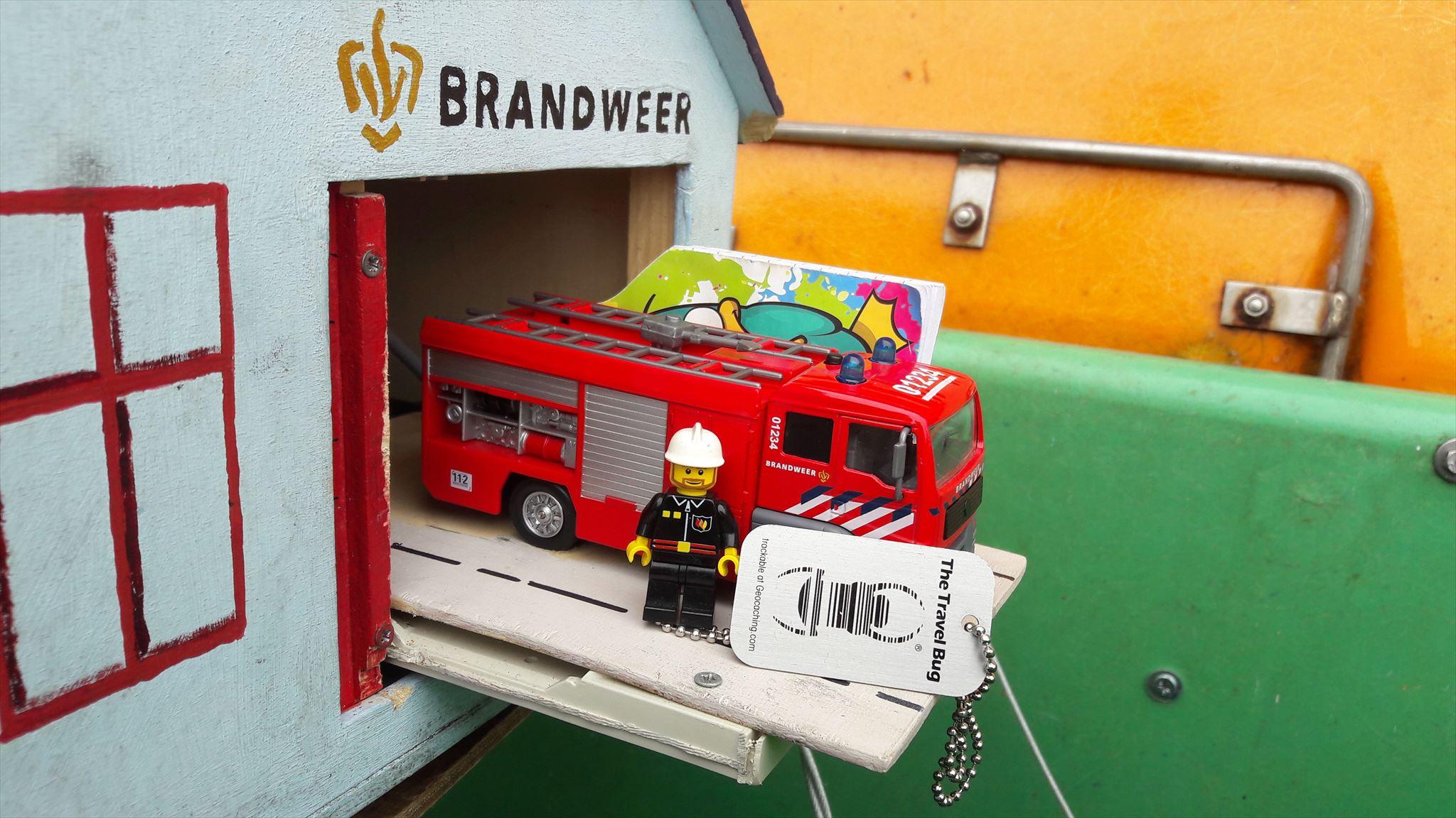 Brandweerman Sam / Fireman Sam — Geocache of the Week